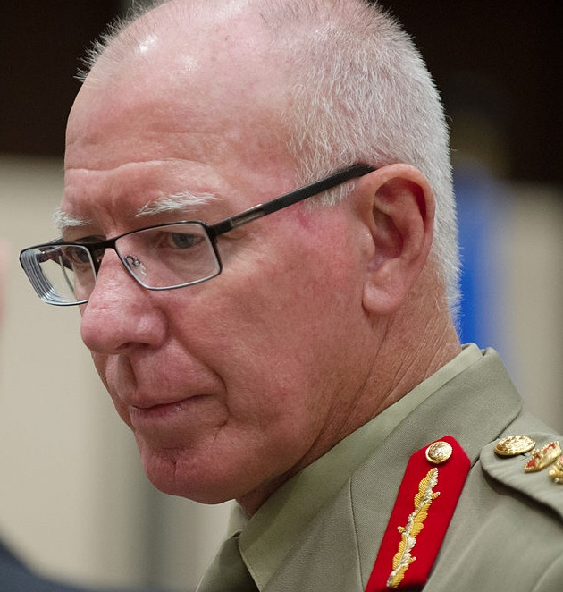 General David Hurley, future Governor-General; credit:  Wikimedia