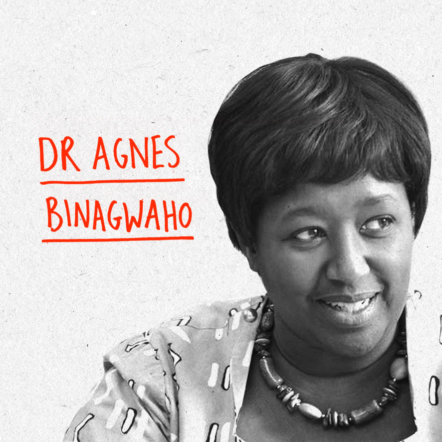 Professor Agnes Binagwaho, MD, M(Ped), PhD is a Rwandan pediatrician who completed her MD in General Medicine at the Universite Libre de Bruxelles and her MA in Pediatrics at the Universite de Bretagne Occidentale. She returned to Rwanda in 1996. She was awarded an Honorary Doctorate of Science from Dartmouth College and earned a Doctorate of Philosophy from the University of Rwanda College of Business and Economics, with her PhD Dissertation entitled Children's Right to Health in the Context of the HIV Epidemic. From 2002-2016 she served the Rwandan Health Sector in high-level government positions, first as the Executive Secretary of Rwanda's National AIDS Control Commission, then as Permanent Secretary of the Ministry of Health, and then during 5 years as the Minister of Health. She is currently a Senior Lecturer in the Department of Global Health and Social Medicine at Harvard Medical School, a Professor of the Practice of Global Health Delivery at the University of Global Health Equity in Rwanda, and an Adjunct Clinical Professor of Pediatrics at the Geisel School of Medicine at Dartmouth. She has held an array of leadership and advisory positions on national and international scale. In 2015, She received the annual Roux Prize and Ronald McDonald House Charities Award of Excellence. With over 150 peer-reviewed publications, her academic engagements include research across areas including health equity, HIV/AIDS, information and communication technologies (ICT) in e-health, and pediatric care delivery systems. Website: www.dr-agnes.blogspot.co.uk Twitter: @agnesbinagwaho