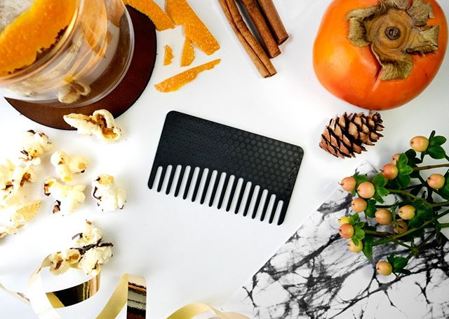 Fall weather means windy weather. 🍂 Count on your trusty Studded Black Go-Comb to whip that wind-blown hair into looking presentable at a moment's notice. . . . #gocomb #edc #hair #hairstyle #comb #combs #haircomb #hairstyling #style #beauty #instabeauty #lifehacks #hairdo #hairoftheday #hairgoals #haircare #hairfashion #hairideas #hairjourney #pursuepretty #portraits_ig #thatsdarling #hairproduct #longhair #pursuewhatislovely #beautyblogger #pumpkin #fallweather #windy #windblown