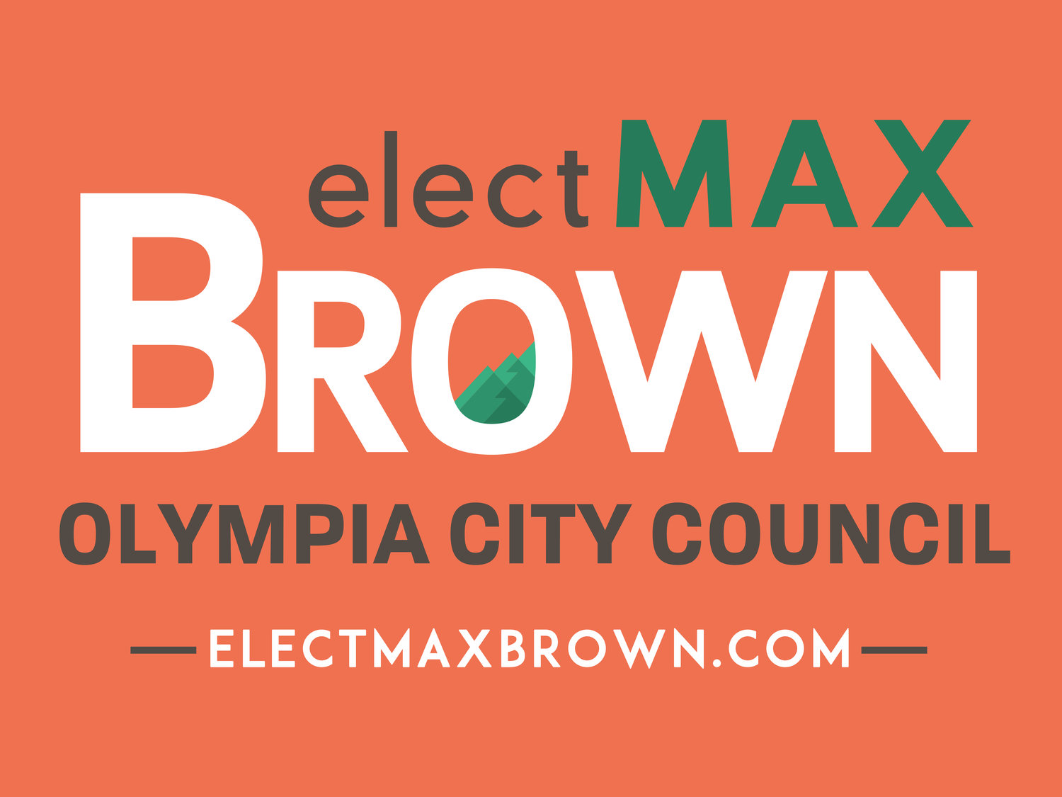 Max Brown for Olympia City Council