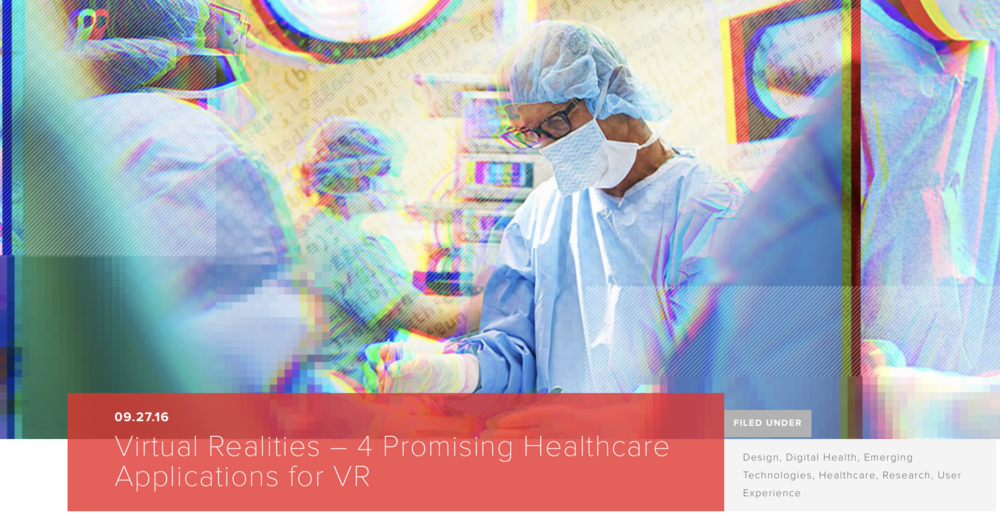 Daniel Kraft VR AR in Healthcare. Virtual Reality