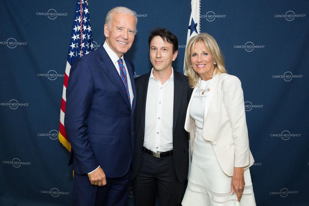 Daniel Kraft & Joe Biden Cancer MoonShot