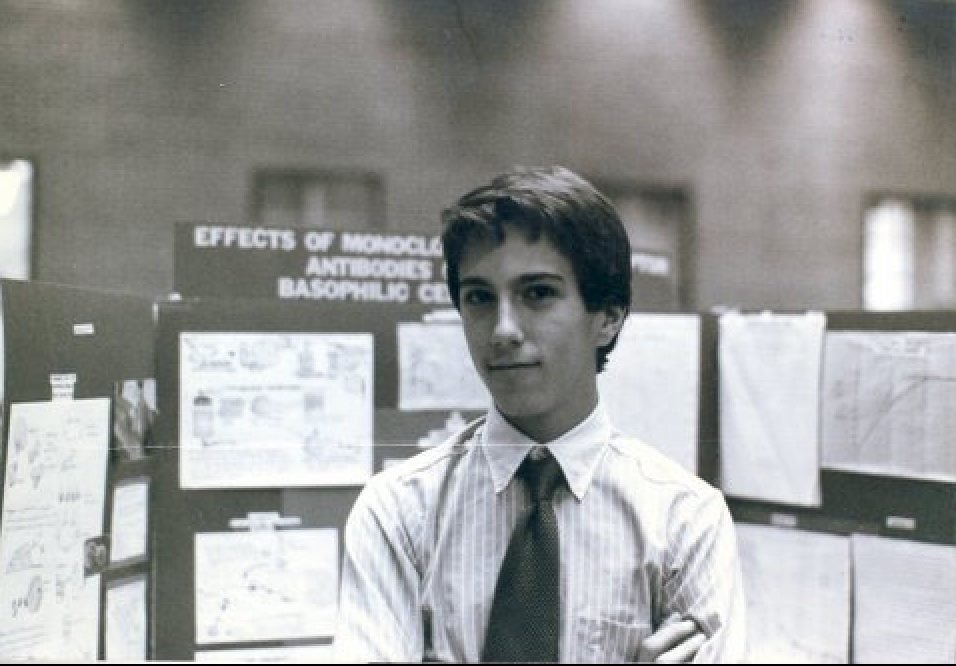Daniel Kraft, Montgomery County Science Fair Grand Prize Winner 1985 & 1986