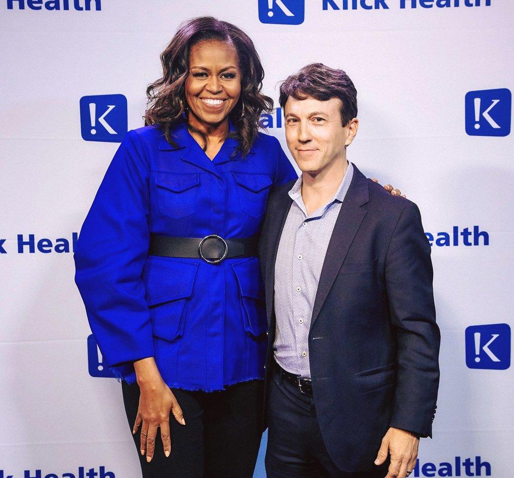 Michelle Obama & Daniel Kraft.jpg