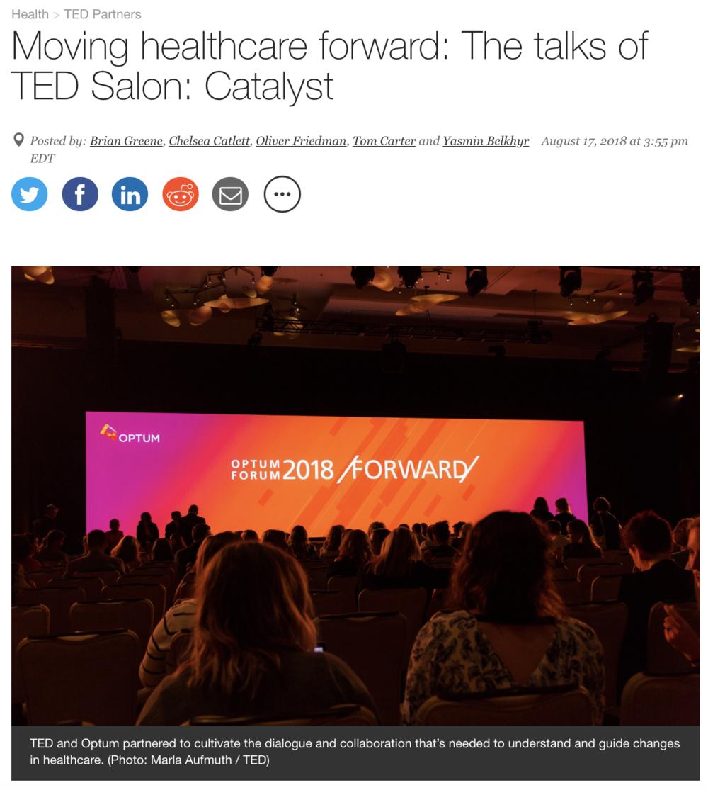 Daniel Kraft TEDSalon TEDBlog