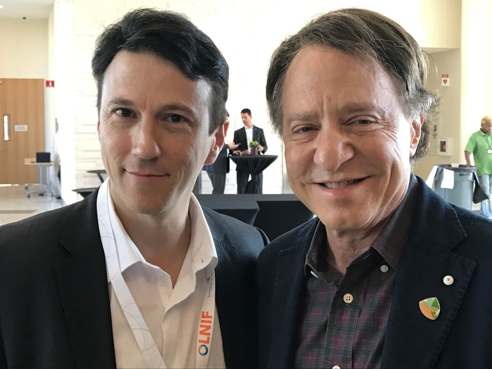 Ray Kurzweil and Daniel.JPG
