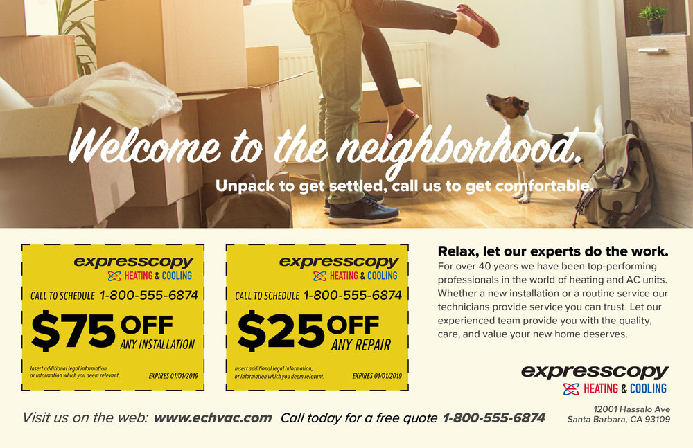 "Home Services Micro-Campaign Template 1/3 – 8.5"" x 5.5"""