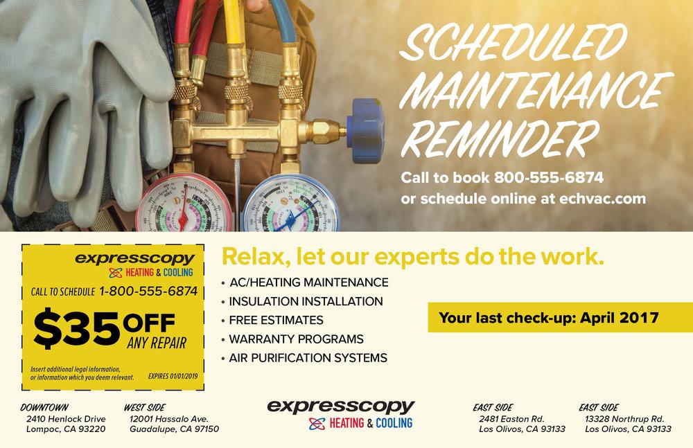 "Home Services Micro-Campaign Template 3/3 – 8.5"" x 5.5"""