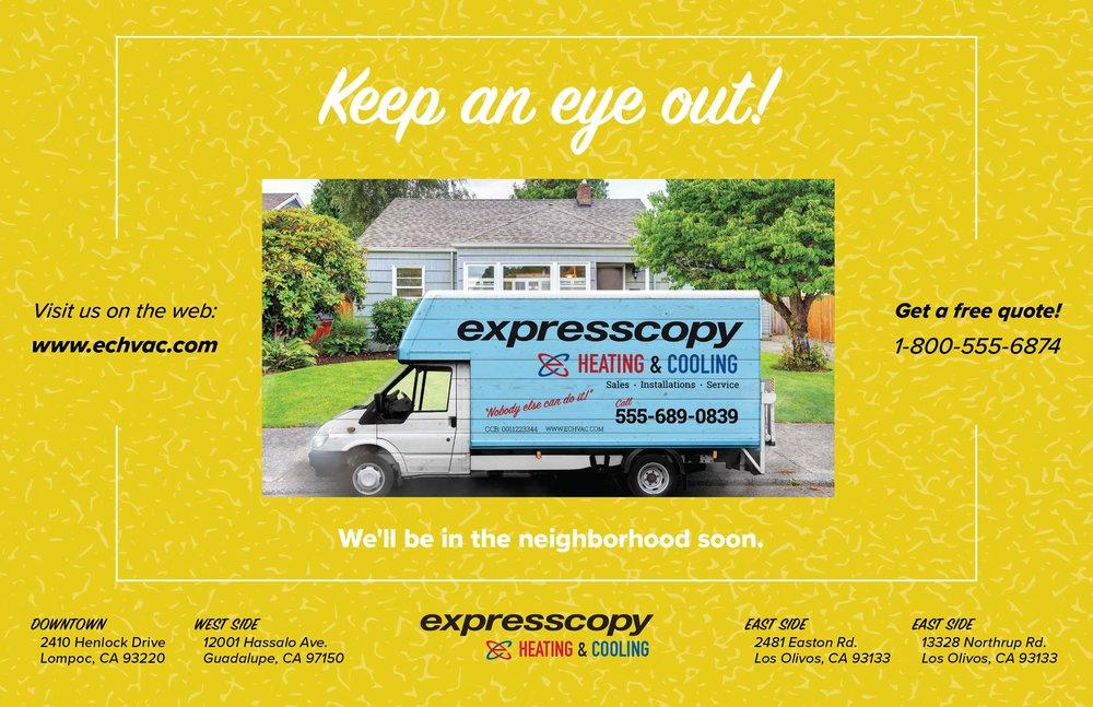 "Home Services Micro-Campaign Template 2/3– 8.5"" x 5.5"""
