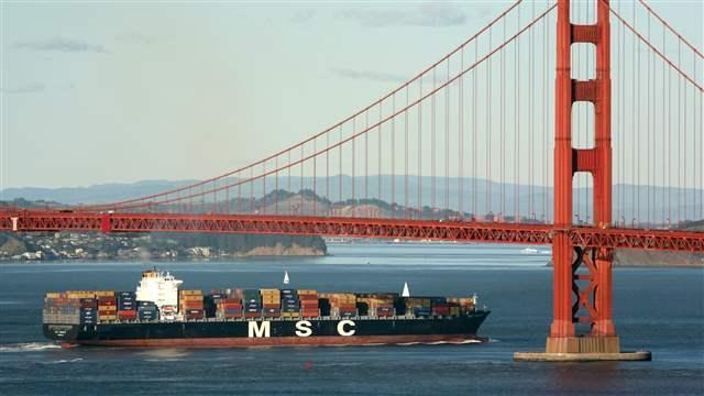 San Francisco as Shipping Port