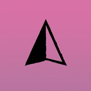 Compass Arrow A in the Black Mast logo