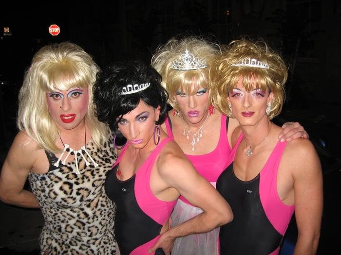 Heklina & Co in the Trannyshack days