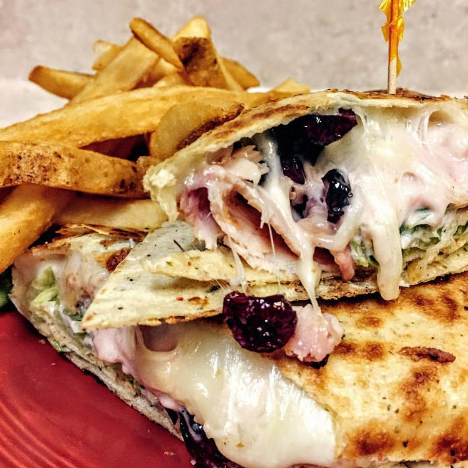 wny best wraps, restaurants in wny, sandwich ideas, best restaurants in buffalo, the poppyseed restaurant, smoked turkey wrap