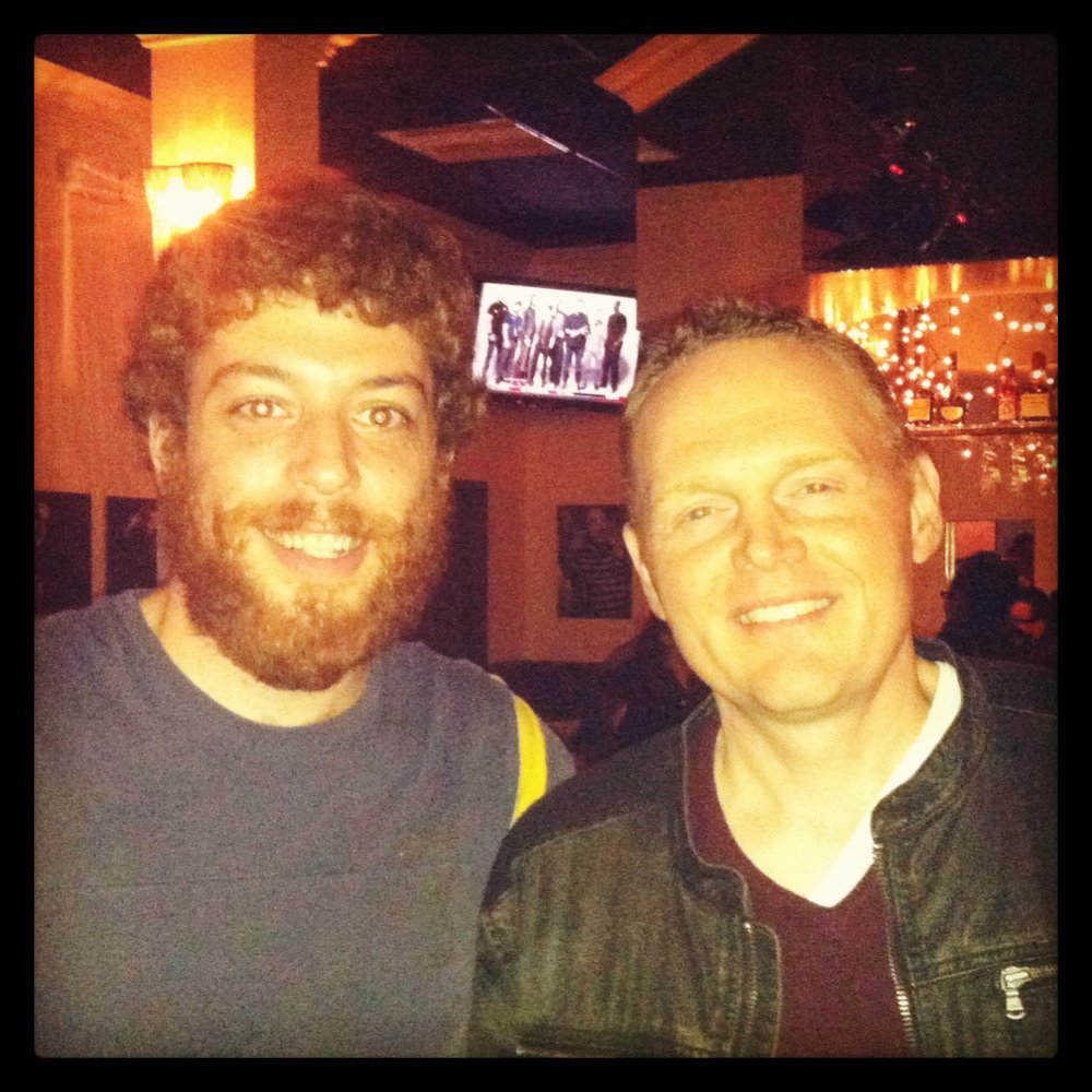Jeffrey Baldinger and Bill Burr.jpg