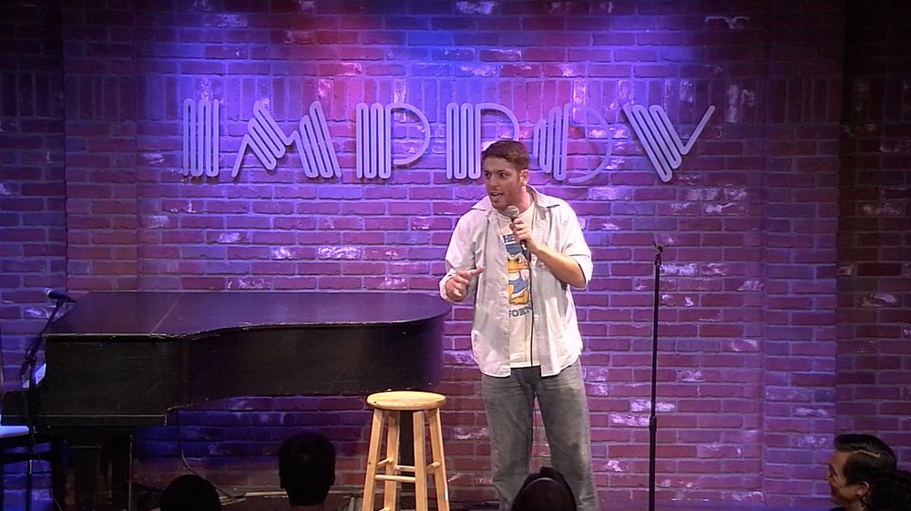 Jeffrey Baldinger at the Hollywood Improv.jpg