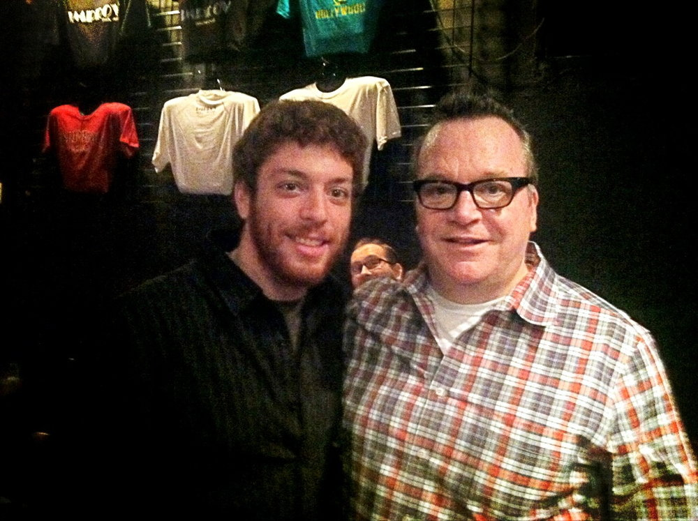 Tom Arnold and Jeffrey Baldinger.jpg