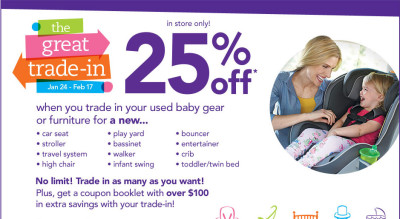 Babies R Us Great Trade In Event Your Happy Nest Nannies