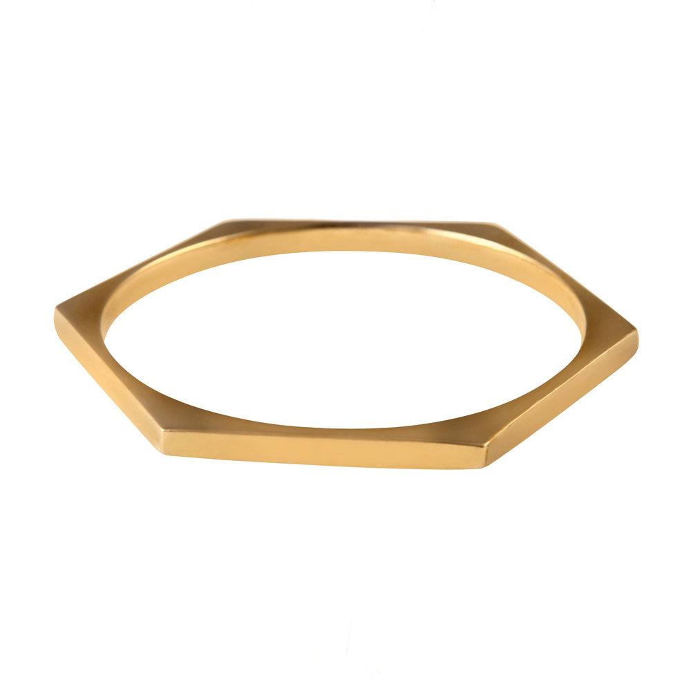 Gold Stellation Bangle