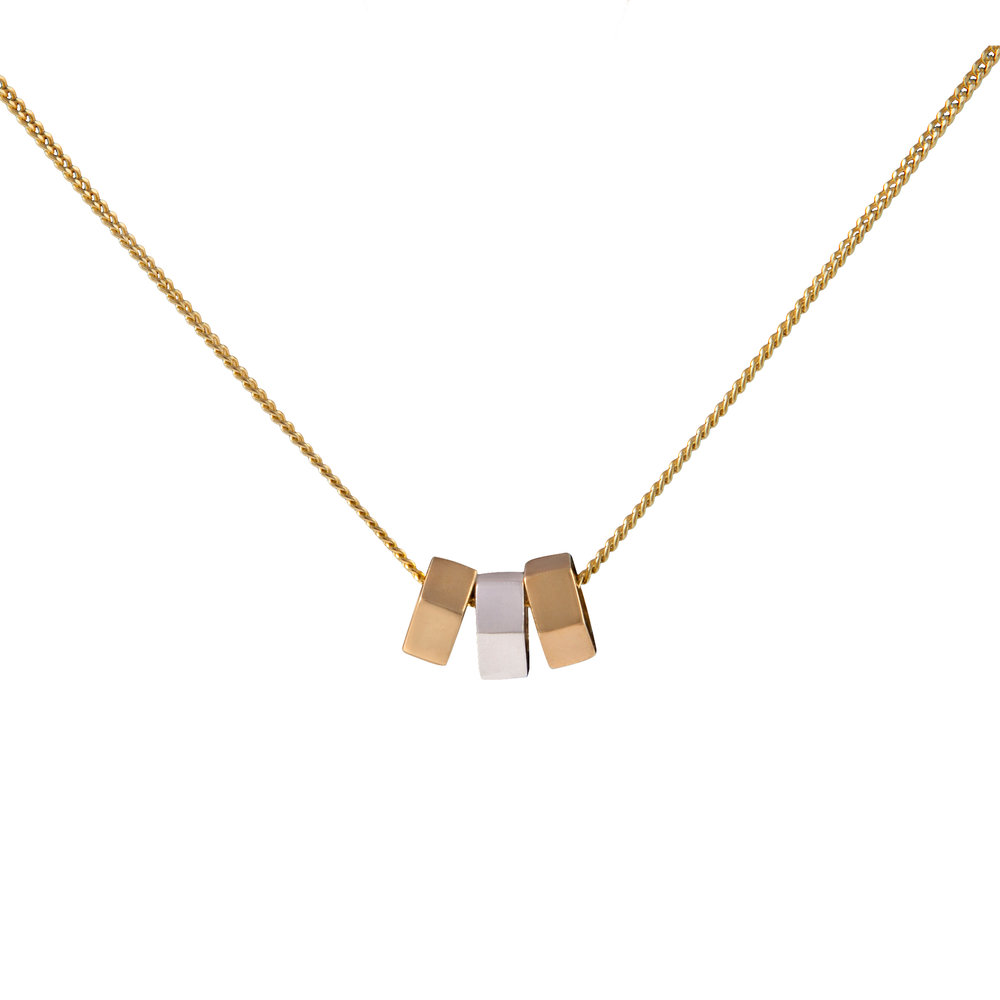 Triple Stellation Necklace