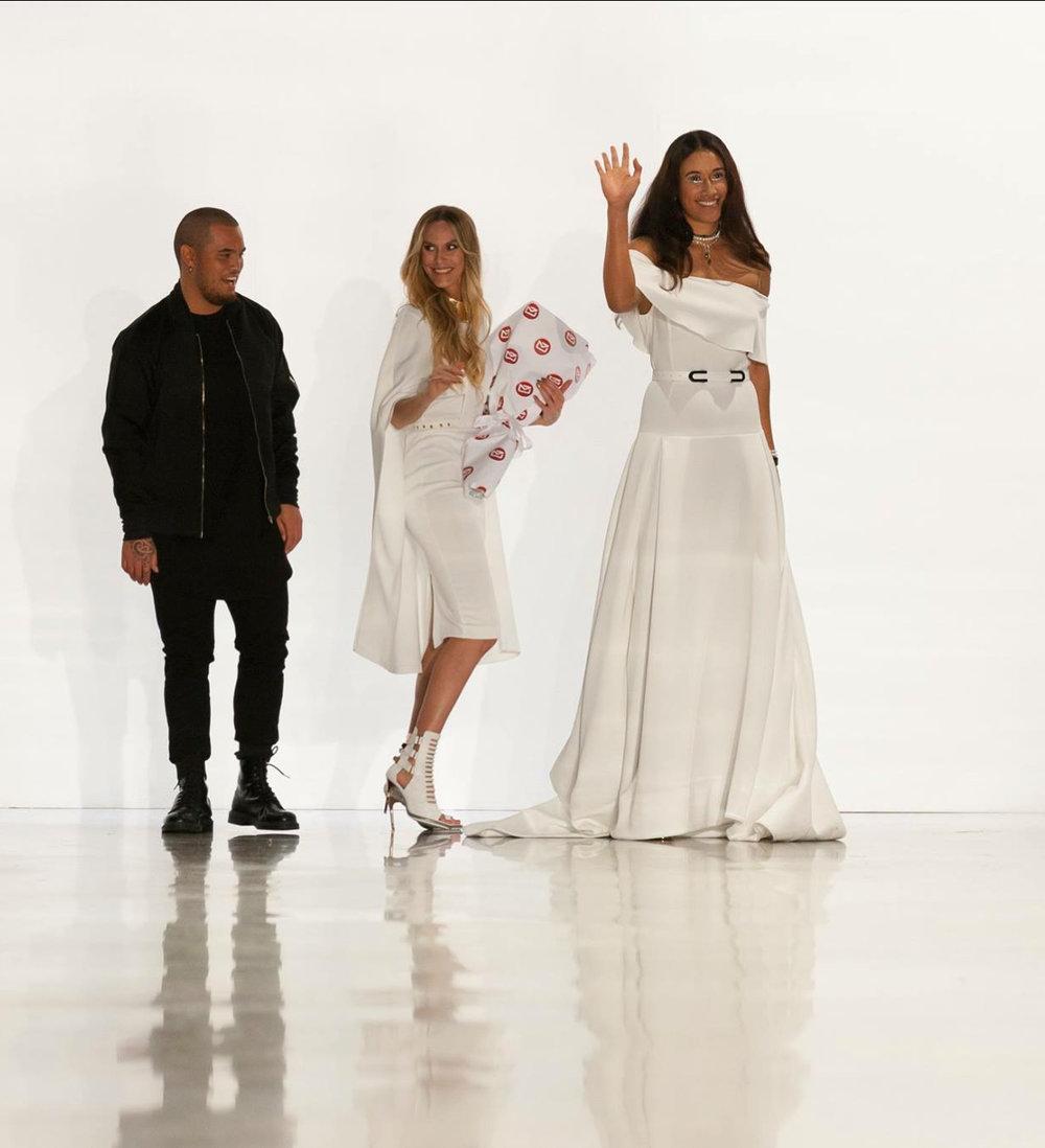 Stan Walker, Rochelle Goodrick, Maria Tutaia NZ Fashion Week.jpg