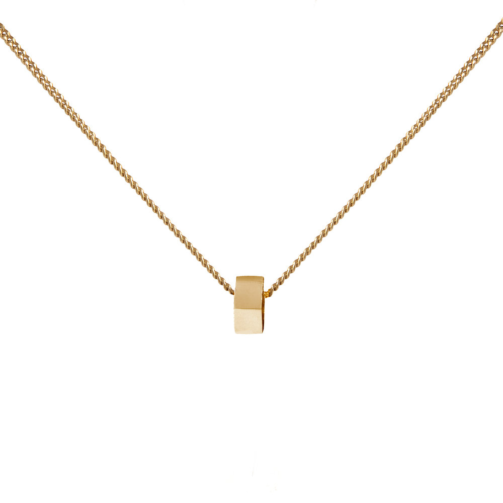9ct Gold Single Stellation Necklace