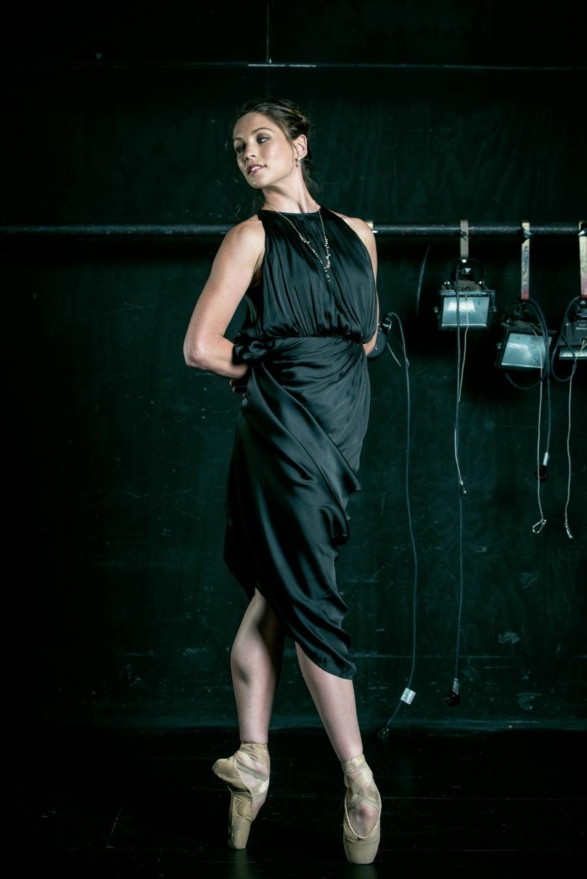 RNZB Dancer Abigale Boyle wearing TORY & KO. Jewellery