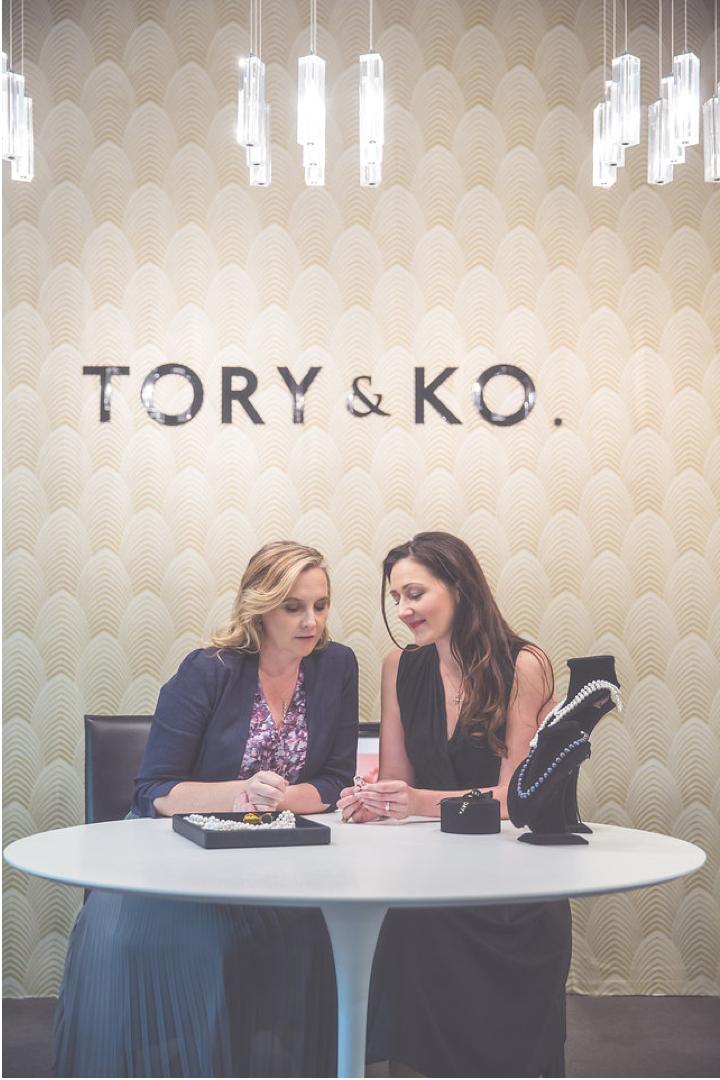 Victoria and Kirstin: TORY & KO.