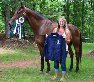 Thoroughbred Incentive Program        was  created to encourage the retraining of Thoroughbreds into other disciplines upon completion of careers horse racing..