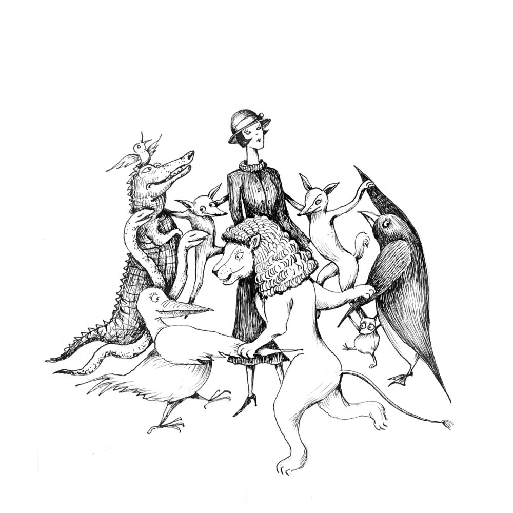 "Illustration for ""Mary Poppins"" by Pamela Travers"