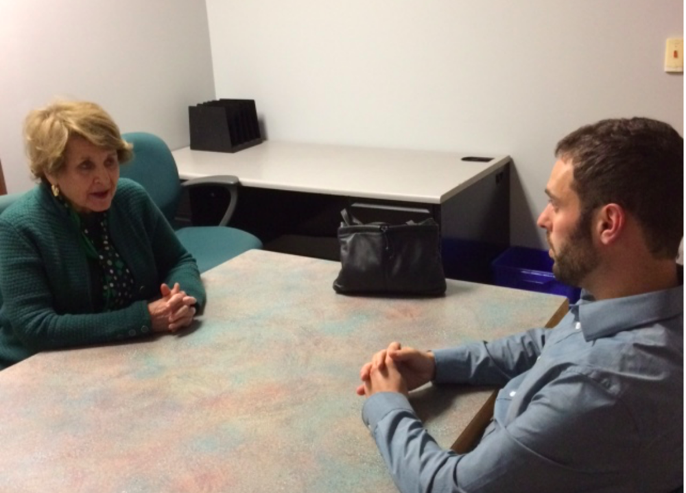 It was great to meet with Louise Slaughter about all that's ahead for our city.