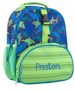 Mini Shark Backpack-Lavington Designs e3e4fa65cd980