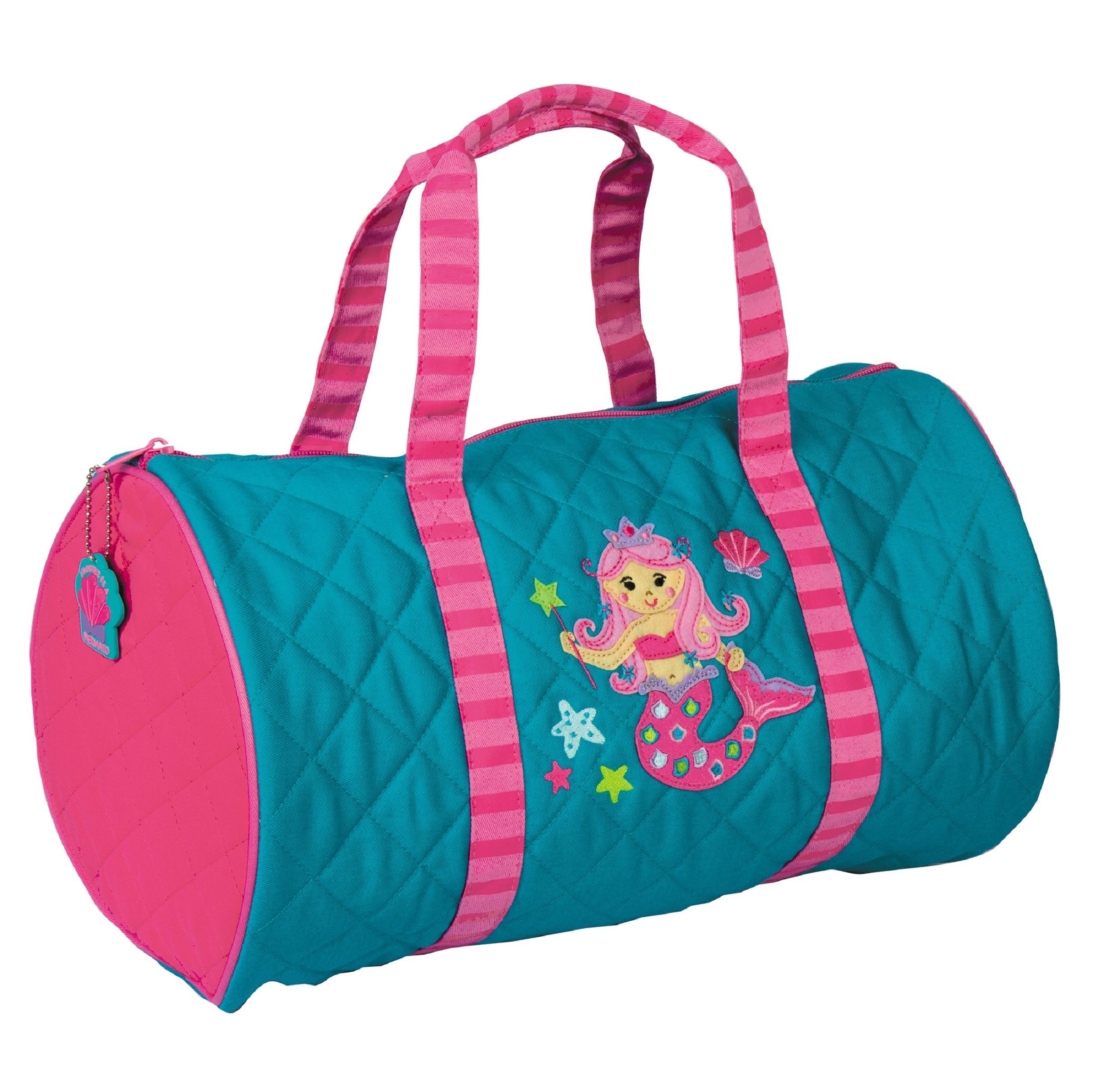 30e6f7de08ce Little Girls Mermaid Duffle Bag-Lavington Designs
