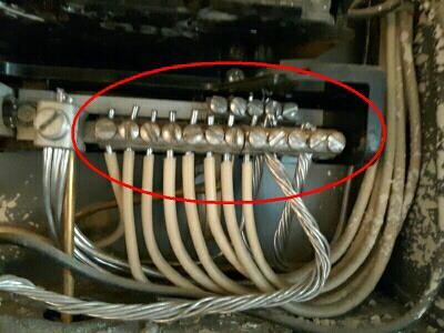 Solid aluminum wiring is always a potential safety hazard which should be evaluated by a qualified electrician. This type of wiring was common until around 1978. The harder it is to access an area to inspect, the more we want to see what's going on in that area. This includes old painted over electrical panels.