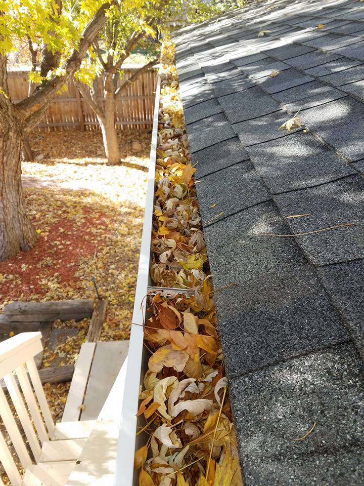 As the leaves start to fall here in beautiful Colorado, it's a great reminder to make sure your gutters are cleaned out thoroughly before the snow starts to fall.