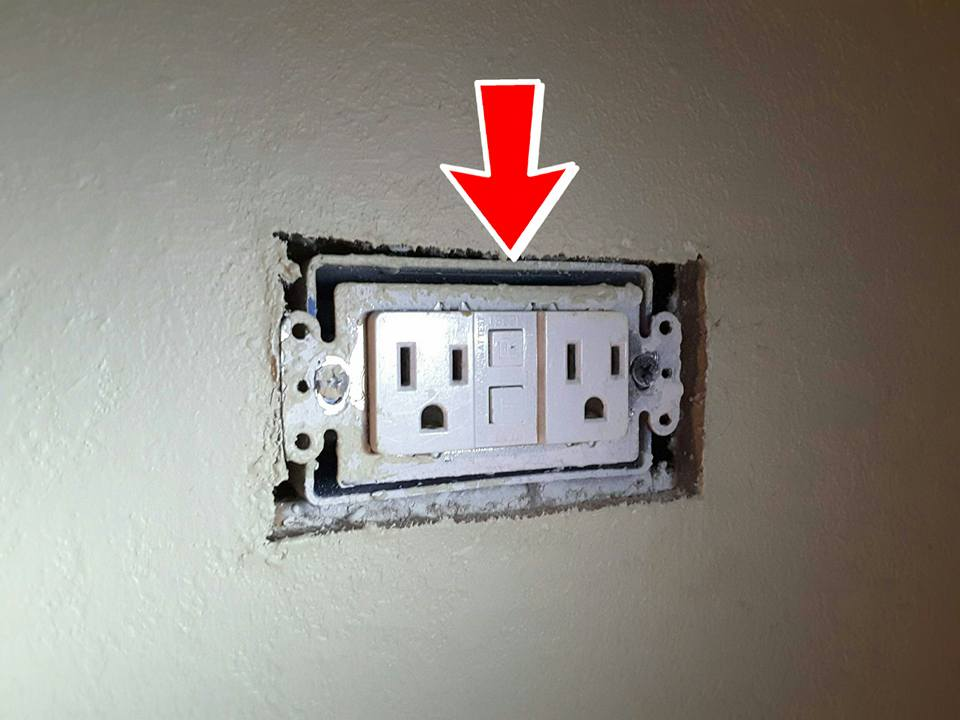 Missing cover plates and loose receptacles are common issues that could loosen wires and create an arc/spark/fire hazard. If you have a loose receptacle, take 2-min and snug it up.
