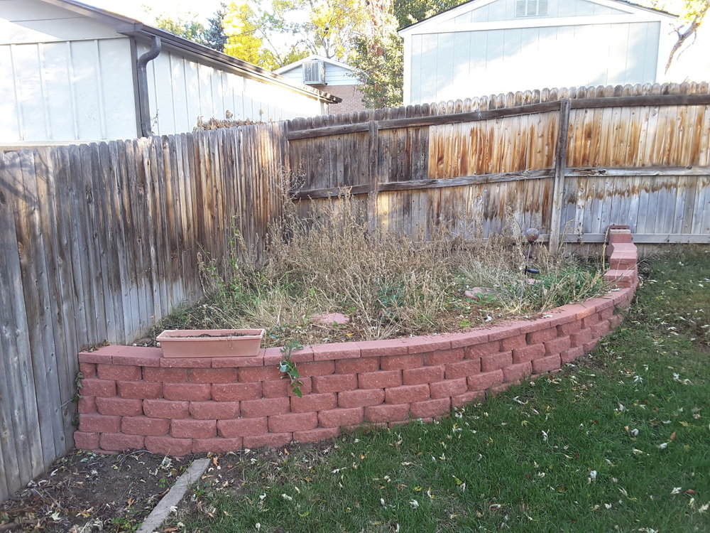 While cement blocks are used as retaining walls, wood fencing should not. You'd be surprised how many times I see fencing used to hold back soil or rocks.