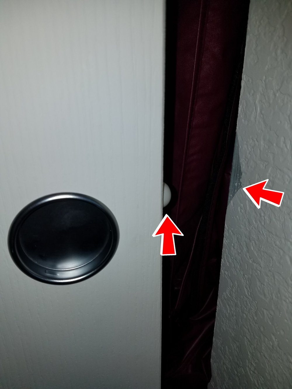 Sliding closet door bumpers are one of the worst ideas ever. Your closet doors might close quieter, but now your patching holes in the walls.
