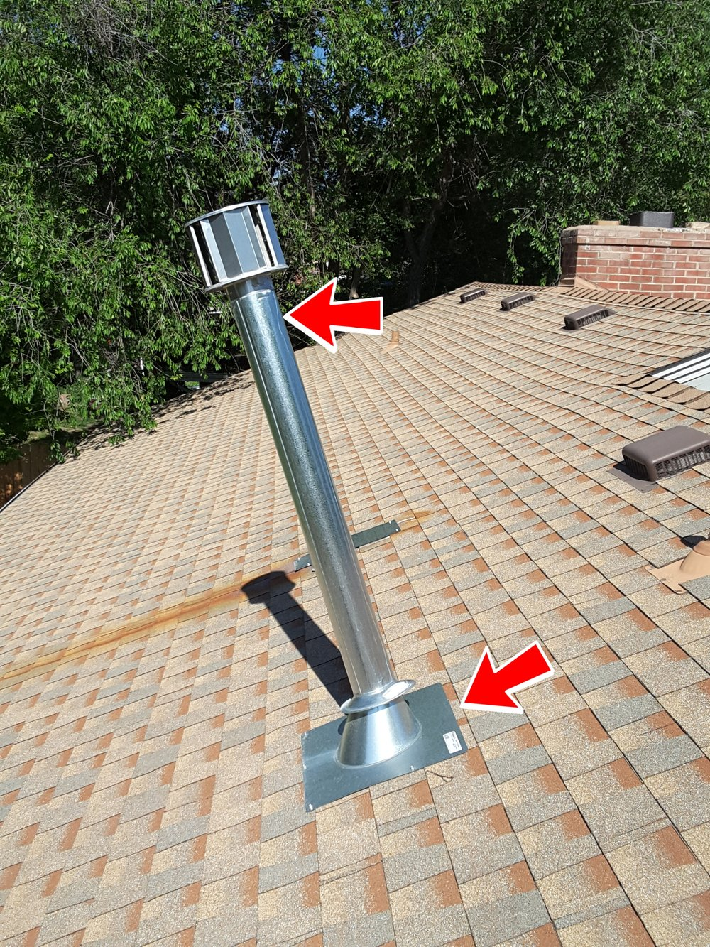 Unfortunately, missing, improper and poorly installed roof flashing is not uncommon.