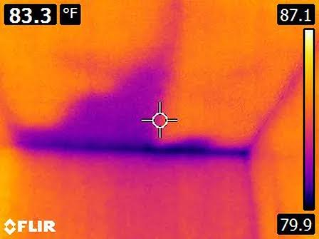 What I see (moisture intrusion in attic)