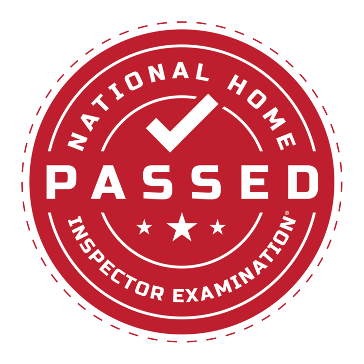 I'm proud to have passed the (NHEI) National Home Inspector Examination twice. Always striving to be the best of the best.