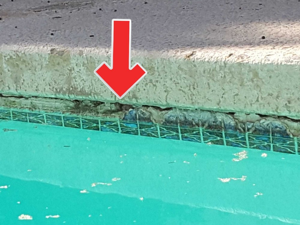 Deteriorated grout, caulk and tile at your pool will lead to more expensive repairs if not repaired and maintained.