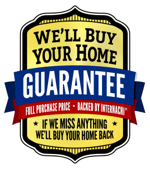 "Ackerman Home Inspections has partnered with the ""International Association of Certified Home Inspectors"" to offer the ""We'll Buy Your Home Back Guarantee""   https://www.nachi.org/buy.htm"