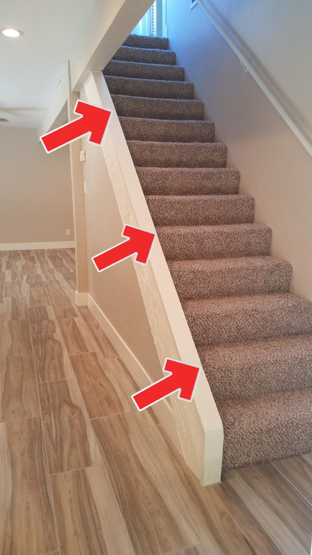 Who needs handrails or balusters? You might if you want to keep your kids and pets from taking a plunge over the edge.