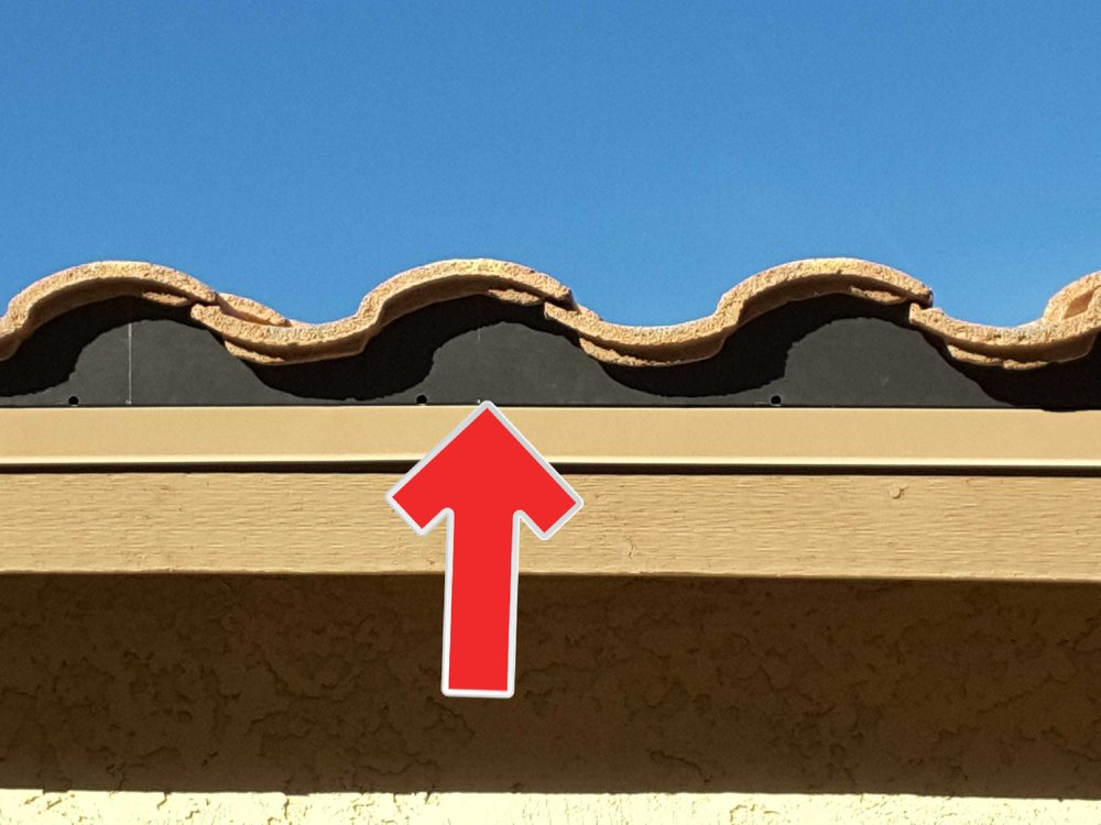 Eaves risers are an important part of your roofing system. They prevent birds and rodents from nesting under the tiles and reduce the spread of fires by blocking embers.