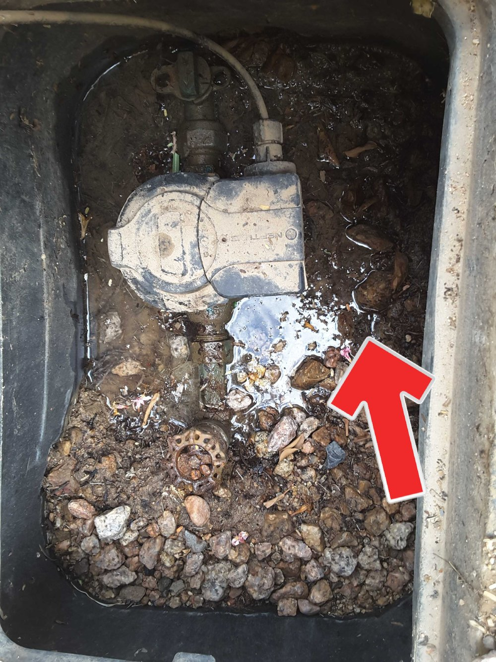 One of the most common places to find a water supply leak is at the water meter. It could go on for months before the average home owner wonders why their bill keeps getting higher.