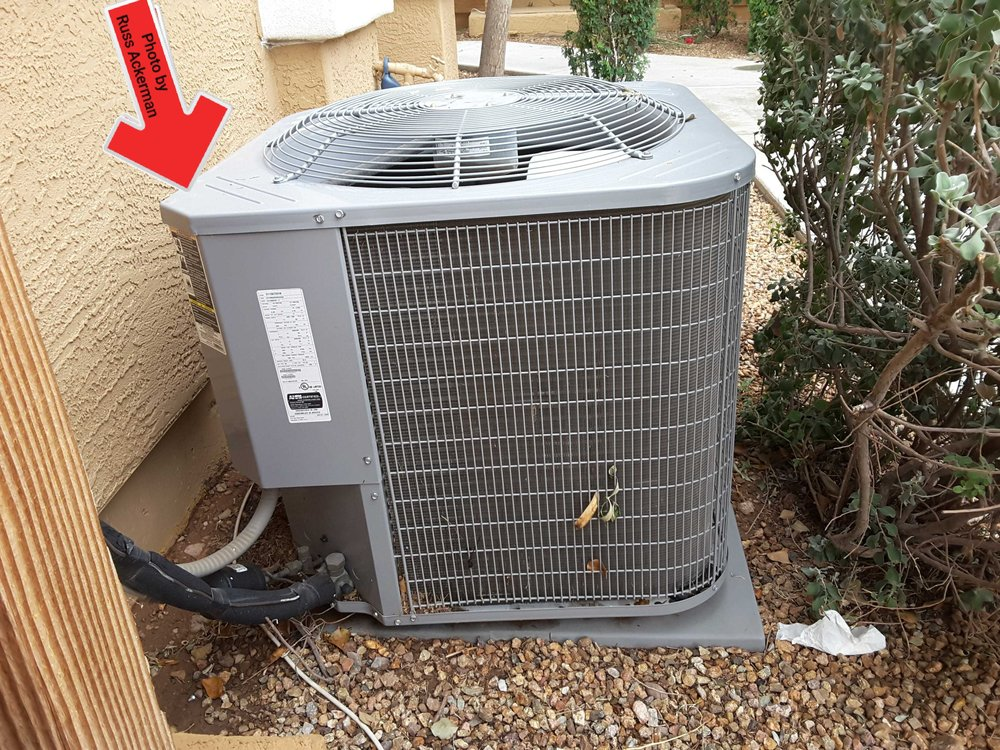A heat pump or A/C with a tilt as little as 10° can do damage to the compressor over a long period of time. Balance that bad boy out and avoid costly repairs.