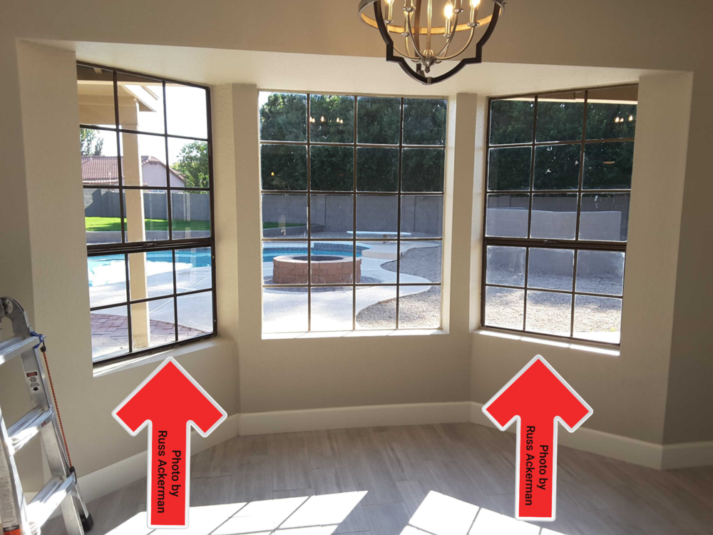 All windows and doors leading to a pool area should have alarms installed to prevent children from unknowingly entering a pool.