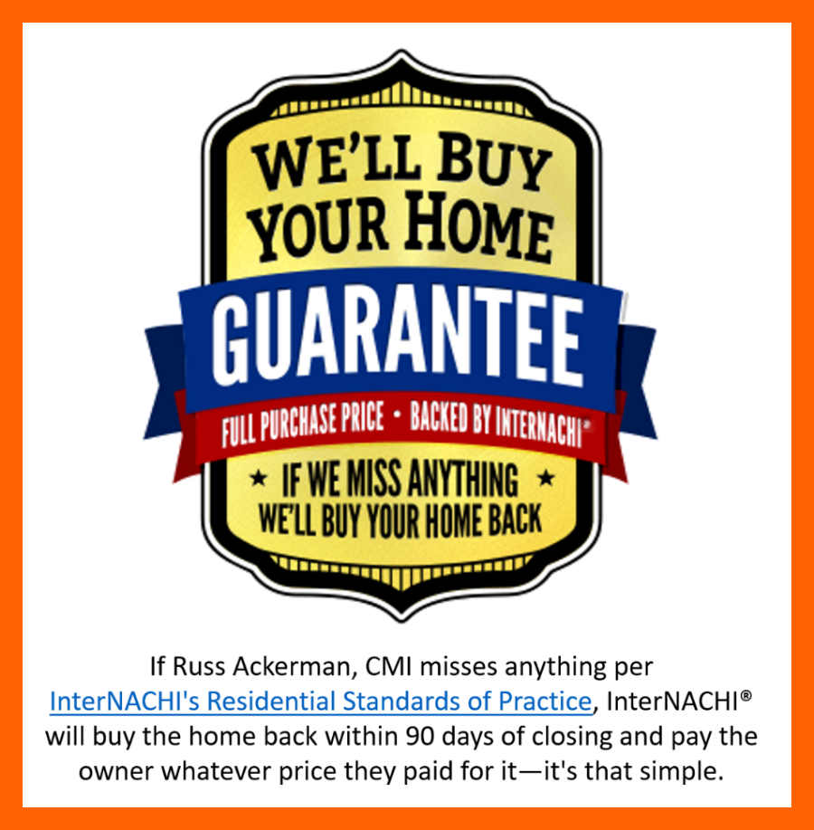 Why would anyone hire a home inspector who does not offer a Buy Back Guarantee?