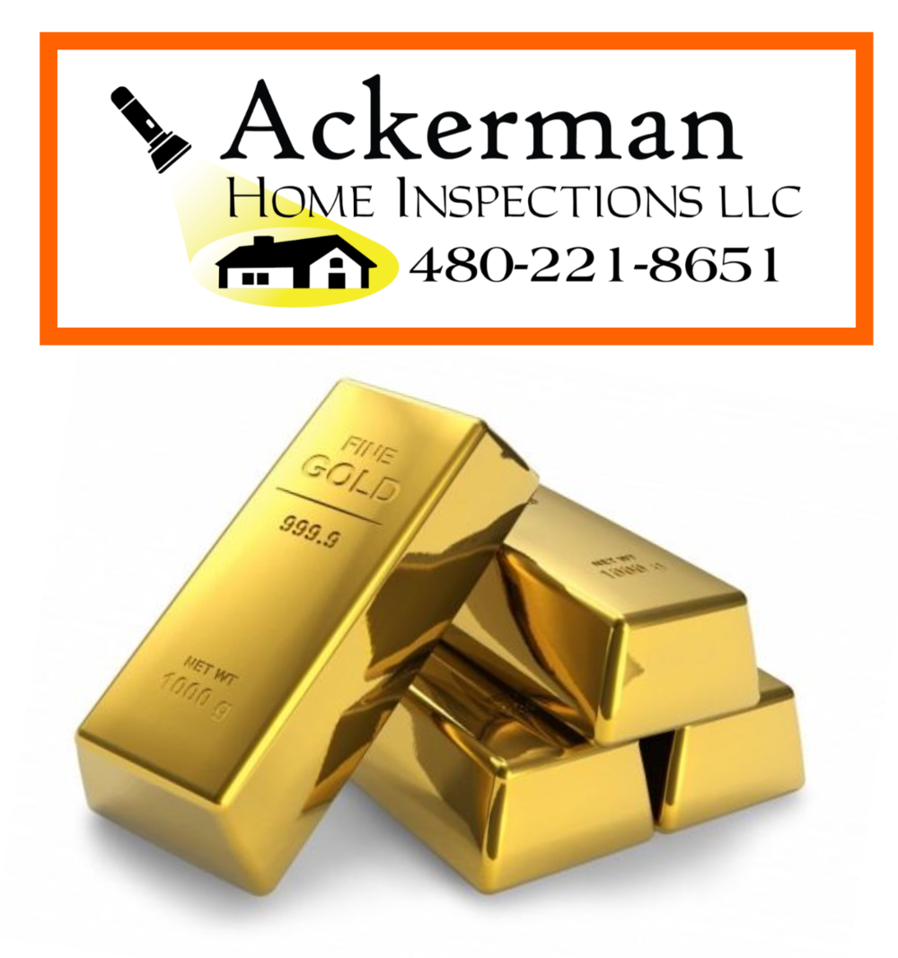 Ackerman Home Inspections has become the Gold Standard of home inspection services. Experience the difference!