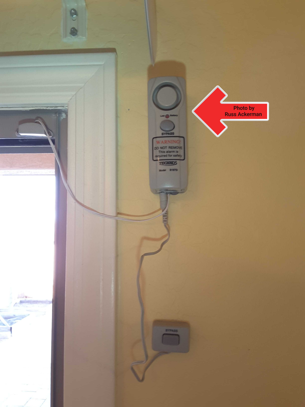 Working alarms are highly recommended at all windows and doors which do not self-close/self-latch and lead to backyard/pool area.
